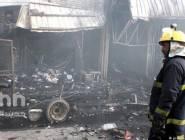 قتلى وجرحى بتفجير انتحاري في بغداد