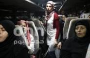 دفعة من أهالي أسرى غزة تزور ابنائها في سجن رامون