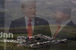 """بنيامين نتنياهو  : بدء العمل في مستوطنة تحمل أسم """"ترامب """""""