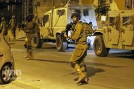 الأحتلال يعتقل أسيرين محررين خلال حملة مداهمات واسعة في الضفة