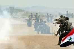 قوات الجيش السوري تحاصر  تنظيم داعش في الباب