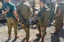 بالصور: قوات الإحتلال تطلق النار على فتاة بجنين