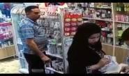 امرأة تخدع صيدلياً وتسرقه بطريقة ماكرة