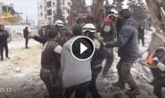 #شاهد | عشرات الشهداء والجرحى جراء القصف على الاحياء السكنية في مدينة #إدلب https://daytalk.net/post/40367