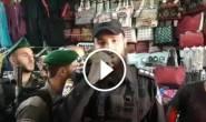 #شاهد: لحظة اعتقال قوات الاحتلال لموظف الاطفاء الشاب عدنان أبو صبيح من باب المجلس قبل قليل.