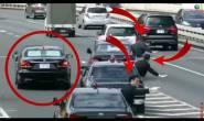 بهذه الطريقة الحضارية يمر موكب الوزير الأول الياباني دون قطع الطريق على المواطنين