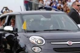 سيارة صغيرة ركبها البابا في أميركا تباع بـ82 ألف دولار