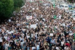 بريطانيا|آلاف المتظاهرين في لندن احتجاجًا على مشاركة بريطانيا في قصف تنظيم داعش