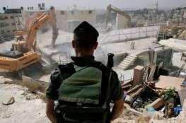 القدس: الاحتلال يهدم منزل شقيق الأسيرة جعابيص في