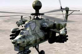 سقوط مروحية روسية في سوريا