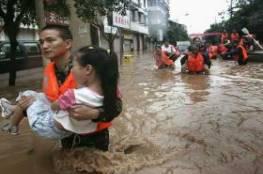 مصرع 25 صينيًا بسبب السيول وانجرافات التربة
