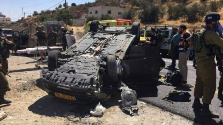 انسحاب المنفذ قتيل و4 إصابات خطيرة في عملية إطلاق نار بالخليل