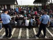 كرواتيا تقفل سبعة من معابرها الحدودية الثمانية مع صربيا للحد من تدفق المهاجرين