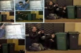 المشهد يتكرر ولكن المكان والجنسية مختلفون..محمد الدرة يظهر في «تفجيرات باريس»