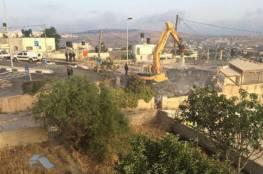 الاحتلال يهدم منزلاُ في شعفاط