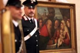 ايطاليا تسترد لوحات سرقتها القوات الألمانية في عهد هتلر