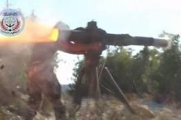 فيديو: مسلحون يستهدفون مروحية رابضة على الأرض في شمال اللاذقية