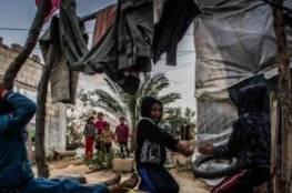 دراسة: 16 ألف عائلة مهجرة في غزة تعيش أوضاعا صعبة