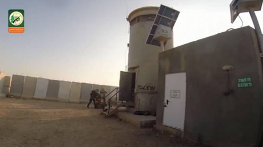 محاولة اسر جندي كانت في ناحل عوز