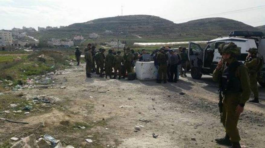 استشهاد فلسطيني وإصابة جندي إسرائيلي في عملية طعن بالخليل