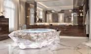 أحواض استحمام في دبي بمليون دولار..صور