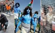 صور :أغرب المظاهرات حول العالم