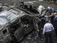 نجاة النائب العام المصري المساعد من انفجار سيارة مفخخة