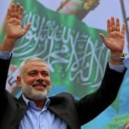حركة حماس لا علاقة لها بهم.......هنية يتبرأ من الاخوان