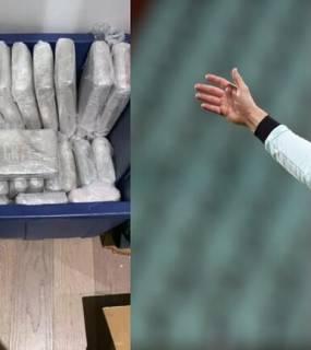 ضبط شحنة كوكايين عليها العلامة التجارية لكريستيانو رونالدو (صور)