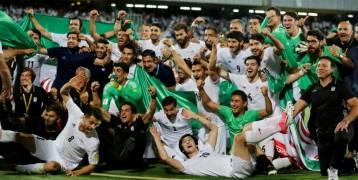 إيران أول بلد آسيوي يتأهل لمونديال روسيا 2018