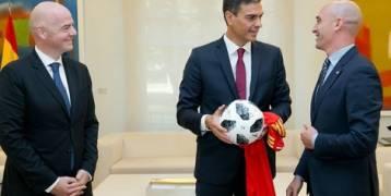"""إسبانيا ترغب في """"مونديال مشترك"""" مع المغرب"""