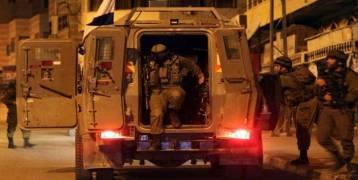 فلسطين : اعتقالات ومداهمات للاحتلال بالضفة المحتلة