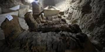 اكتشاف 17مومياء في مقبرة فرعونية في المنيا بالقاهرة
