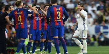 لاعبو برشلونة يراهنون على تعثر الريال أمام هذا الفريق
