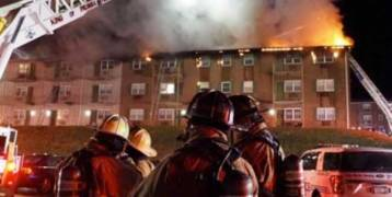 حريق يطارد مرضى كورونا في مستشفى ويقتل 10 منهم