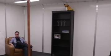 بالفيديو |أحدث الابتكارات ..غرفة للشحن اللاسلكي