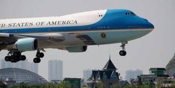 خلل ميكانيكي كاد أن يفجر طائرة ترامب الرئاسية