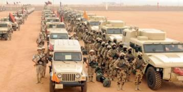 القاهرة : مقتل 10 إرهابيين والقبض على 400 بينهم أجانب في سيناء