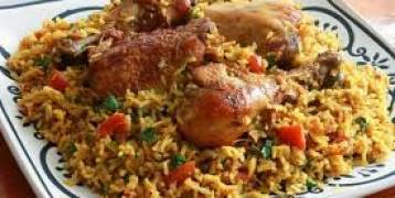 طريقة عمل كبسة الدجاج الشهية