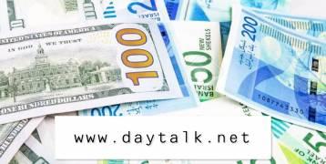 اسعار العملات مقابل الشيكل لليوم الاحد