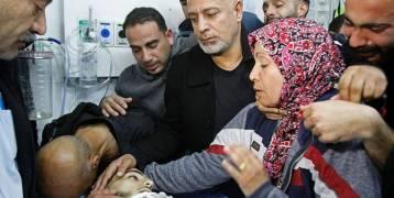 صور : عائلة الشهيد قصي العمور (17 عاما) تودع ابنها الذي استشهد برصاص الاحتلال بمواجهات تقوع