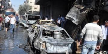 دمشق : عشرات القتلى والجرحى بتفجير انتحاري بالسويداء السورية