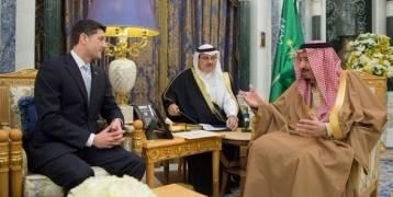 الرياض : العاهل السعودي يبحث مع رئيس مجلس النواب الأمريكي العلاقات الثنائية