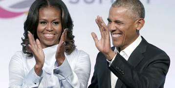 باراك وميشيل أوباما أكثر شخصين إثارة للإعجاب في العالم
