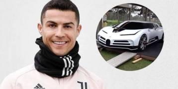 رونالدو يهدي نفسه في عيد ميلاده سيارة نادرة جداً.. والمبلغ خيالي