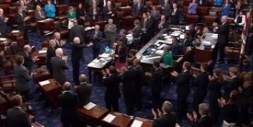 مجلس الشيوخ الأمريكى يصوت ضد قرار ترامب بالانسحاب من سوريا وأفغانستان