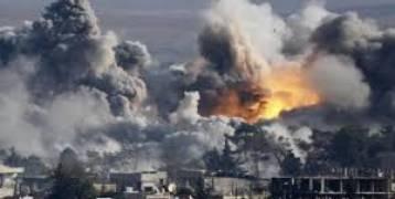 قصف روسي في الغوطة الشرقية  يودي الى مقتل 23 مدنياً بينهم أطفال