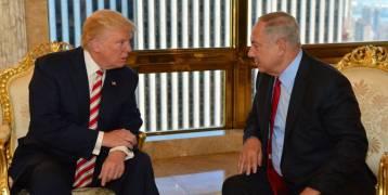 """نتنياهو لـ ترامب: """"المخاطر الجديدة تجعل الأعداء القدامى من العرب شركاء"""""""