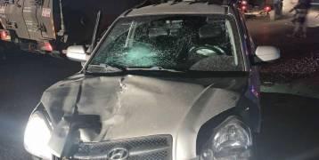 الإعلام العبري: إصابة جندي في عملــية دهس على حاجز قلنديا