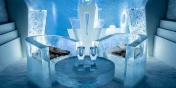 بالصور.. أفخم قصر جليدي في العالم